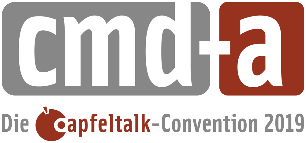 Apfeltalk CMD-A Convention Logo